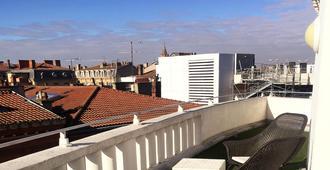 Hotel Ours Blanc - Wilson - טולוז - מרפסת