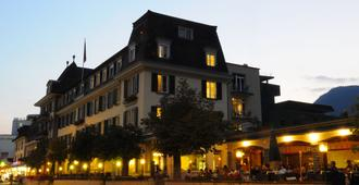 Hotel Krebs - Interlaken - Gebouw