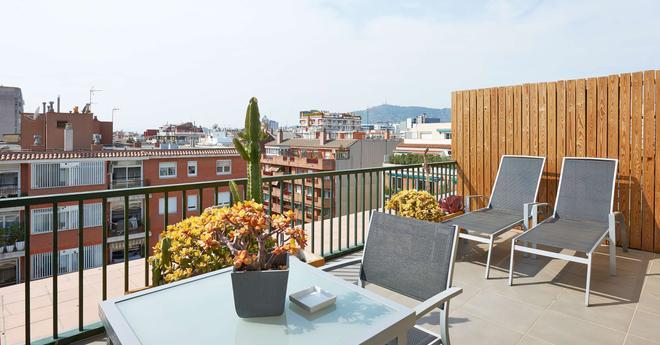 NH Barcelona Les Corts - Barcelona - Parveke