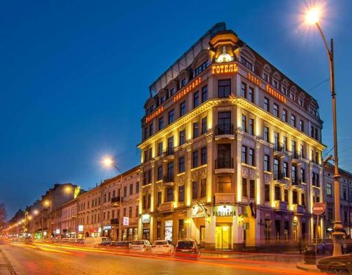 Panorama Lviv Hotel - Львов - Здание