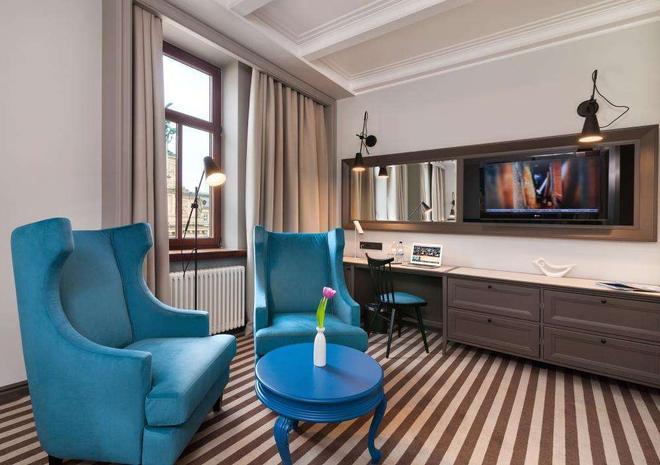 Panorama Lviv Hotel - Львов - Гостиная