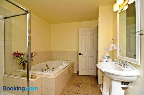 優柔水療酒店 - 卡利斯托加 - 卡利斯托加 - 浴室