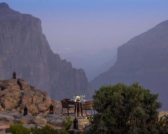 Anantara Al Jabal Al Akhdar Resort - Nizwa - Food