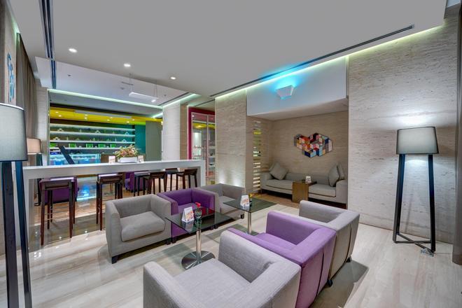 72 Hotel - Šarja - Oleskelutila