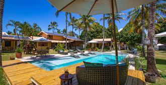 阿拉亞爾雷坎托 - 旅館 - 塞古羅港 - 游泳池