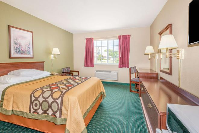 Super 8 By Wyndham Platte City/Kci Airport North - Platte City - Bedroom