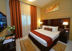 Emirates Stars Hotel Apartments Dubai - Dubai - Bedroom