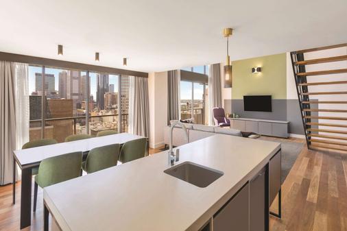 Adina Apartment Hotel Melbourne - Melbourne - Dining room