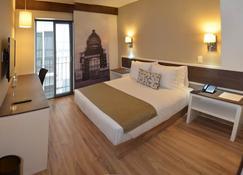 Hotel Plaza Revolución - Mexico City - Bedroom