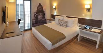 革命廣場酒店 - 墨西哥城 - 墨西哥城 - 臥室