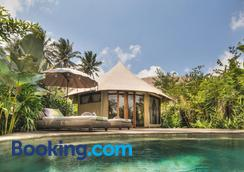 Sandat Glamping Tents - Ubud - Pool