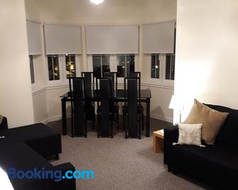 crystal apartments - Airdrie - Living room