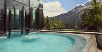 Badrutt's Palace Hotel - Sankt Moritz - Pool