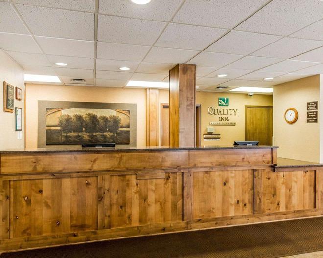 Quality Inn Homestead Park - Billings - Vastaanotto