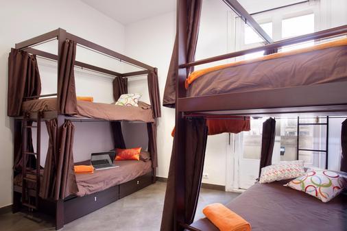 Hip Karma Hostel - บาร์เซโลนา - ห้องนอน
