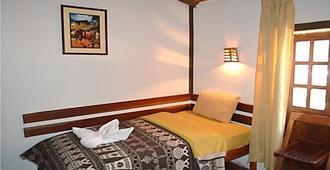 Hostal Andean Moon - Ollantaytambo - Bedroom
