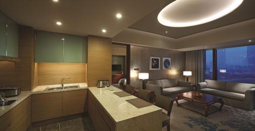 Shangri-La Hotel Tianjin - Tianjin - Living room