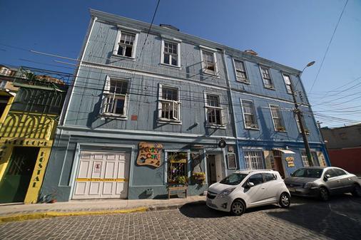 La Valija Hostel - Valparaíso - Gebäude