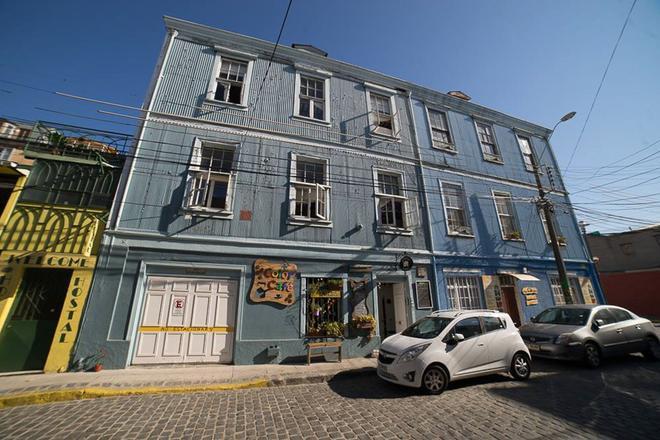 La Valija Hostel - Valparaíso - Rakennus