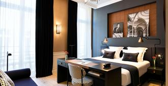 Hotel Square Louvois - Paris - Schlafzimmer