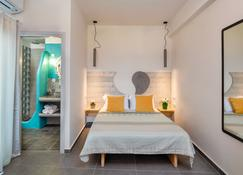 Afrodete Hotel - Firostefani - Bedroom