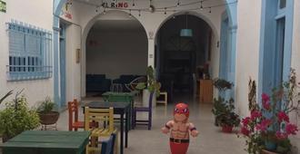 Santa Lucha Hostel - קרטארו - פטיו