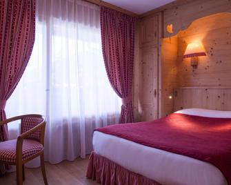 Chalet-Hôtel Neige et Roc, The Originals Relais (Hotel-Chalet de Tradition) - Samoëns - Bedroom