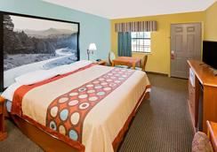 Super 8 by Wyndham Hazen - Hazen - Bedroom