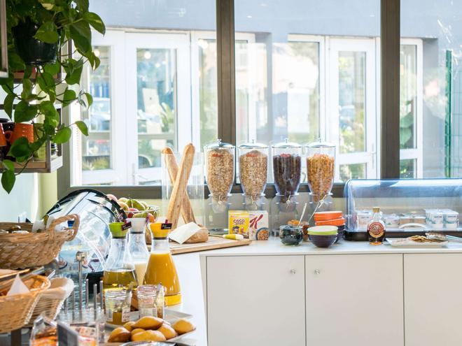 歐羅巴酒店 - 魯西隆地區卡內 - 卡內特恩多克 - 自助餐
