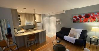 Aparthotelmontréal By Les Terrasses Saint Urbain - Montreal - Sala de estar