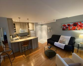 Aparthotelmontréal By Les Terrasses Saint Urbain - Montreal - Living room