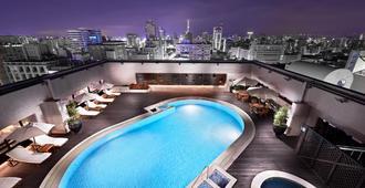 台北喜來登大飯店 - 台北 - 游泳池