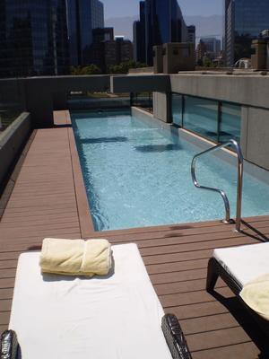 西班牙優質酒店 - 聖地亞哥 - 游泳池