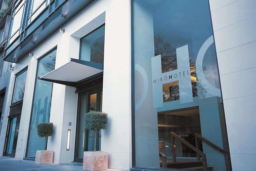 Hotel Miro - Thành phố Bilbao - Toà nhà