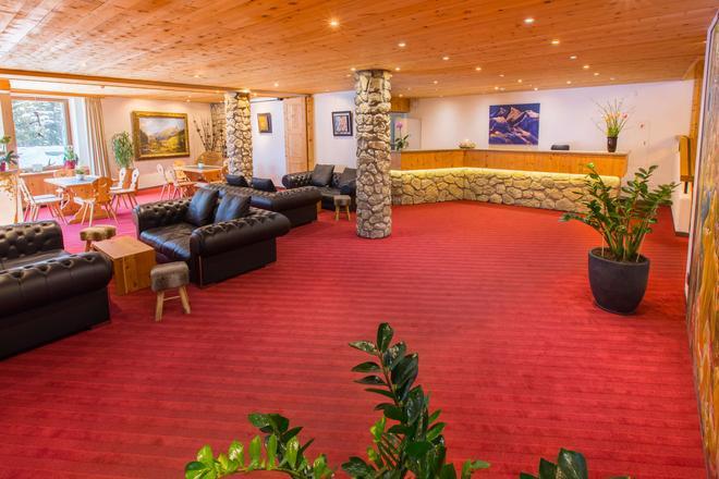 聖吉安酒店 - 聖莫里茲 - 聖莫里茨 - 大廳