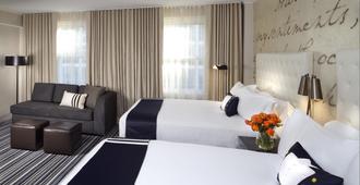 Kimpton George Hotel - וושינגטון די.סי - חדר שינה
