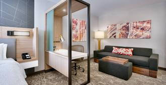 SpringHill Suites by Marriott Salt Lake City Sugar House - Salt Lake City - Sala de estar