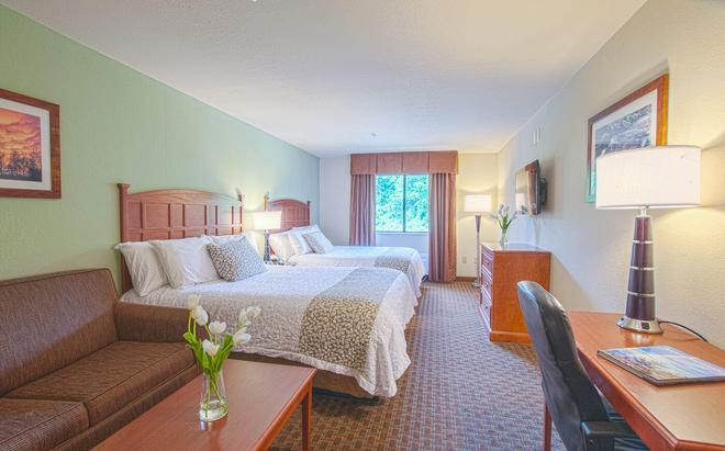 Brookstone Lodge near Biltmore Village Ascend Hotel Collection - Asheville - Bedroom