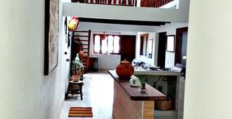 El Farol De Halu Hospedaje - Villa de Leyva - Recepción