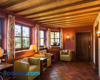 Allgäu Ferienhaus Strobel - Rosshaupten - Living room