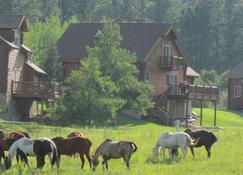 High Country Guest Ranch - ฮิลล์ ซิตี้ - อาคาร