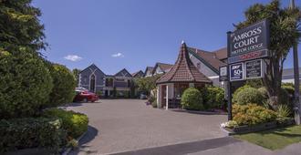 Amross Court Motor Lodge - כרייסטצ'רץ' - בניין