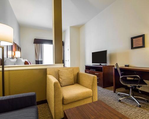 Comfort Suites Woodland - Sacramento Airport - Woodland - Schlafzimmer