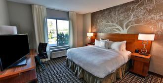 Fairfield Inn & Suites by Marriott Savannah Midtown - סאוואנה - חדר שינה