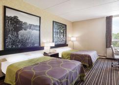 Super 8 by Wyndham Plattsburgh - Plattsburgh - Bedroom