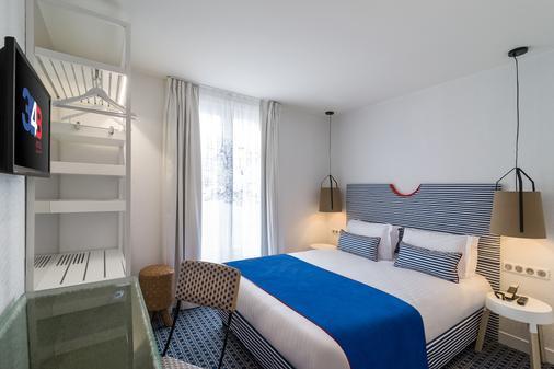 艾斯托特爾 34B 酒店 - 巴黎 - 巴黎 - 臥室