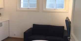 Nice basement apartment in central Oslo - Oslo - Sala de estar