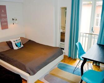 Marken Gjestehus - Bergen - Schlafzimmer