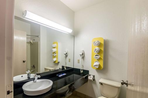 Motel 6 - 奧克拉荷馬 - 奥克拉荷馬市 - 奧克拉荷馬市 - 浴室
