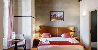 Ghent River Hotel - גאנט - חדר שינה
